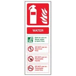 Eco-Friendly Water Fire Extinguisher - Portrait