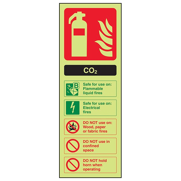 GITD CO2 Extinguisher ID - Portrait