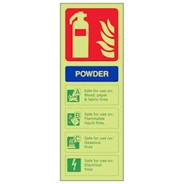 GITD Powder Extinguisher ID - Portrait
