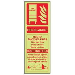GITD Fire Blanket ID - Portrait