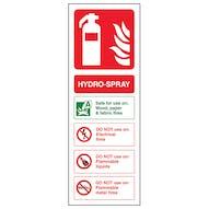 Hydro-Spray Fire Extinguisher
