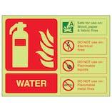 GITD Water Extinguisher ID - Landscape
