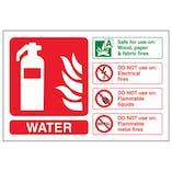Eco-Friendly Water Fire Extinguisher - Landscape