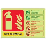 GITD Wet Chemical Extinguisher ID - Landscape