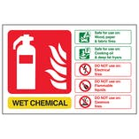 Wet Chemical Fire Extinguisher - Landscape
