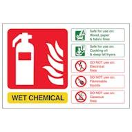 Wet Chemical Fire Extinguisher - Landscape