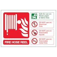 Fire Hose Reel Fire Extinguisher - Landscape
