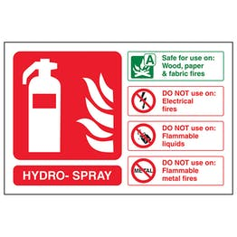 Hydro-Spray Fire Extinguisher - Landscape