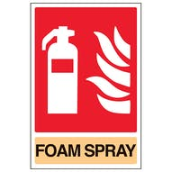 General Foam Spray Fire Extinguisher