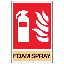 General Foam Spray Fire Extinguisher