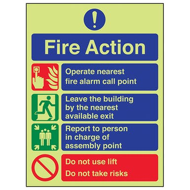 GITD Fire Action  - Do Not Take Risks