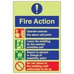 GITD Fire Action - Do Not Return To Building