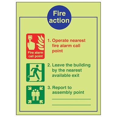 GITD Fire Action - Operate Nearest Fire Alarm
