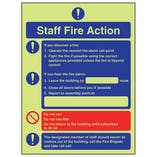 GITD Fire Action - Fire Instructions For Staff