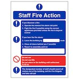 Fire Action - Fire Instructions For Staff