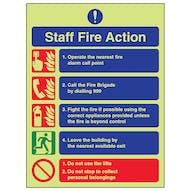 GITD Fire Action - Staff Fire Action