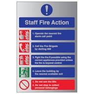 Aluminium Effect - Staff Fire Action