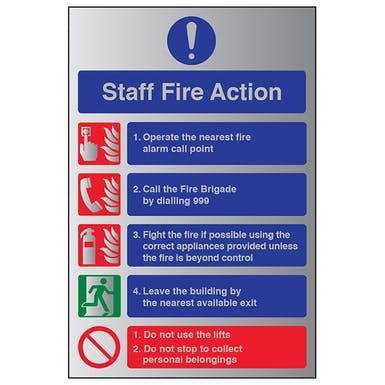 Aluminium Effect - Staff Fire Action
