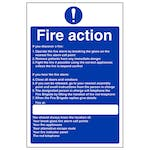 Nursing Fire Action - If You Hear The Fire Alarm