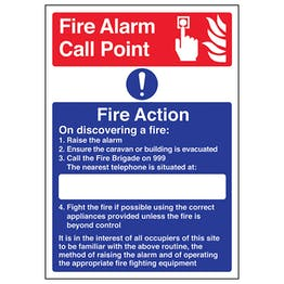A4 - Fire Point - Fire Action - On Discovering A Fire