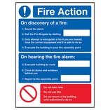 Fire Action - On Discovery Of A Fire/Only Attempt
