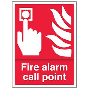 Fire Alarm Call Point - Portrait