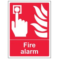 Fire Alarm - Portrait