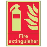 GITD Fire Extinguisher - Portrait