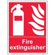 Fire Extinguisher - Portrait