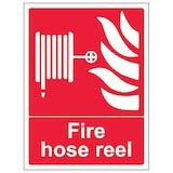 Fire Hose Reel - Portrait