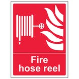 Fire Hose Reel - Portrait
