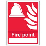 Fire Point With Blank - Portrait