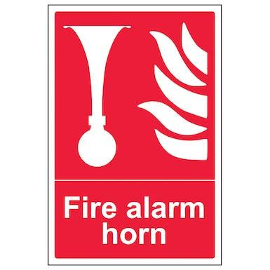 Fire Alarm Horn - Portrait
