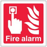 Fire Alarm Symbol - Polycarbonate