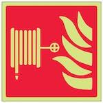 GITD Fire Hose Reel Symbol