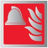 Fire Point Symbol - Aluminium Effect