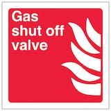 Gas Shut Off Valve - Square