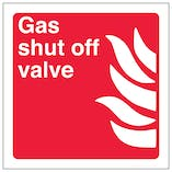 Gas Shut Off Valve - Square