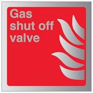 Aluminium Effect - Gas Shut Off Valve