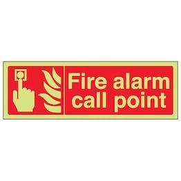 GITD Fire Alarm Call Point - Landscape