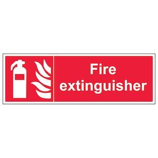 Fire Extinguisher - Landscape