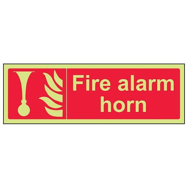 GITD Fire Alarm Horn - Landscape