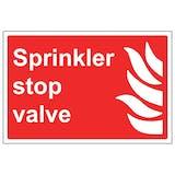 Sprinkler Stop Valve - Landscape