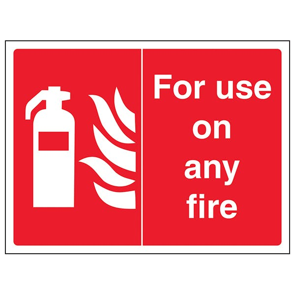 For Use On Any Fire - Landscape