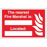 The Nearest Fire Marshal Is Located - Landscape