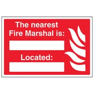 The Nearest Fire Marshal Is Located