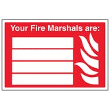 Your Fire Marshals Are: - Landscape