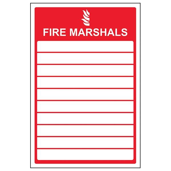 Fire Marshals - Portrait