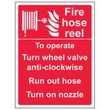 Fire Hose Reel - Self Operated