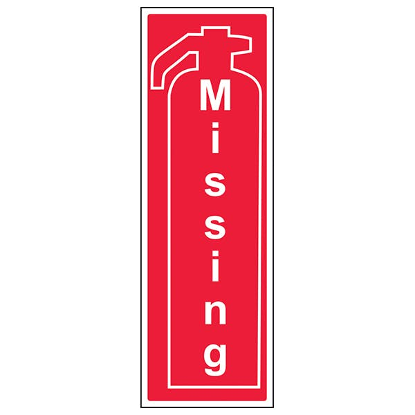 Fire Extinguisher Missing